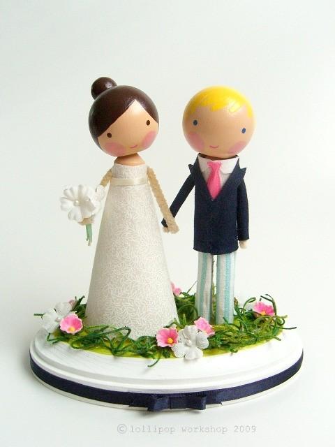 Figúrky na svadobnú tortu - Obrázok č. 51