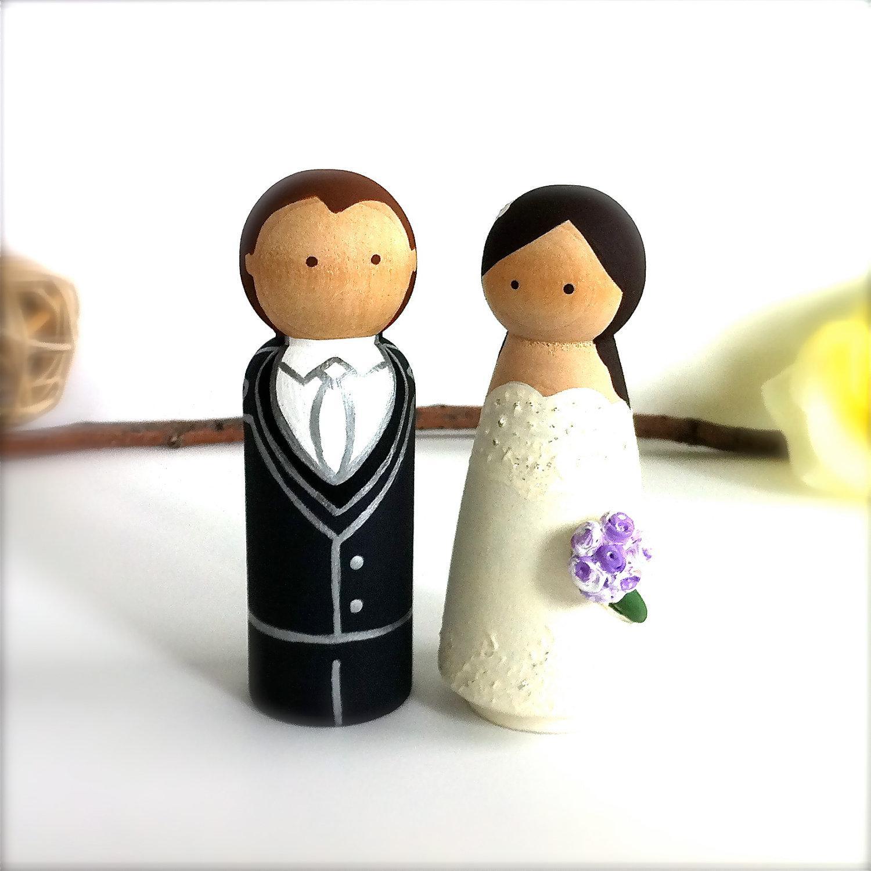Figúrky na svadobnú tortu - Obrázok č. 65