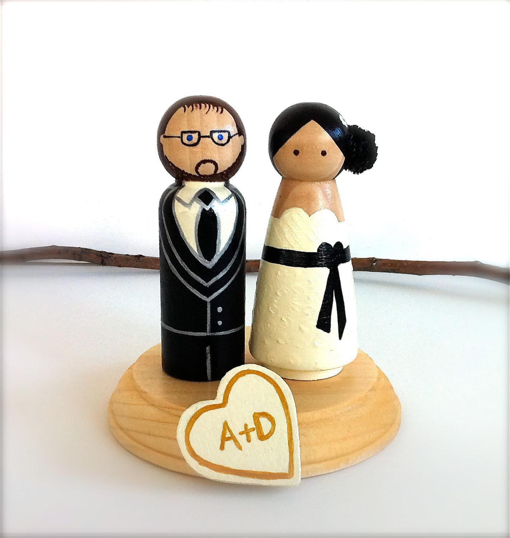 Figúrky na svadobnú tortu - Obrázok č. 53