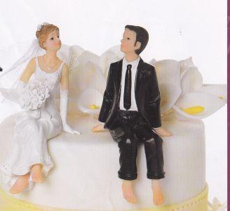 Figúrky na svadobnú tortu - Obrázok č. 54