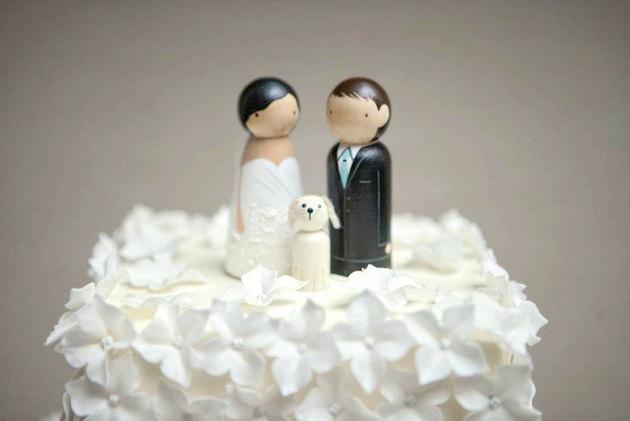Figúrky na svadobnú tortu - Obrázok č. 61