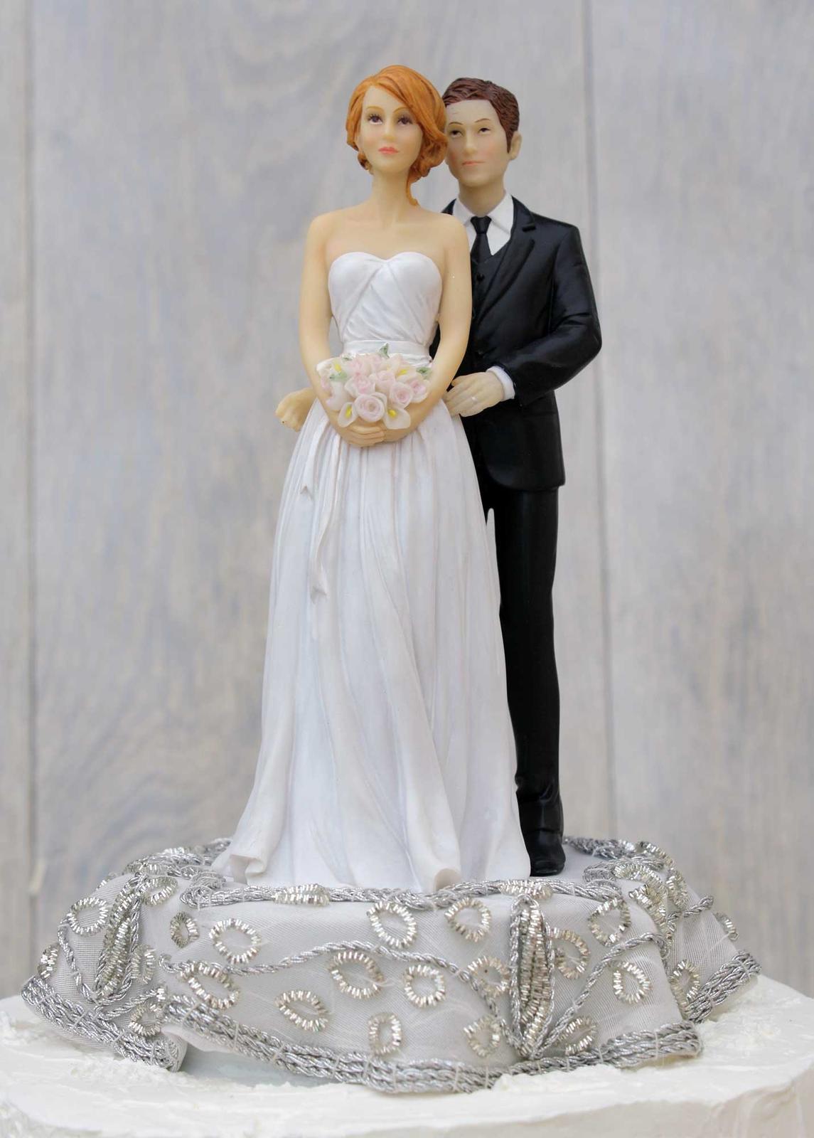 Figúrky na svadobnú tortu - Obrázok č. 83