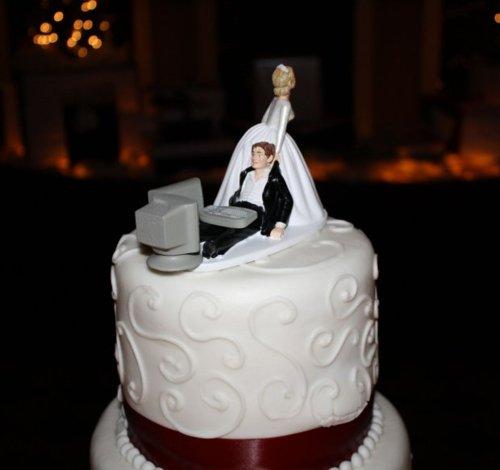 Figúrky na svadobnú tortu - Obrázok č. 88