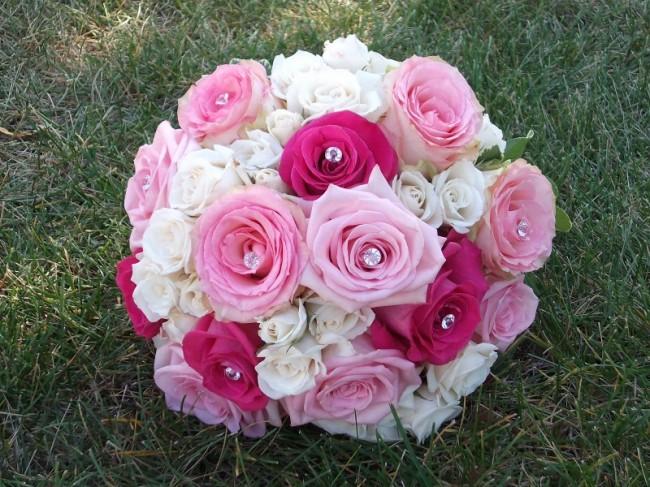 Ružové kytice inšpirácie - Obrázok č. 4