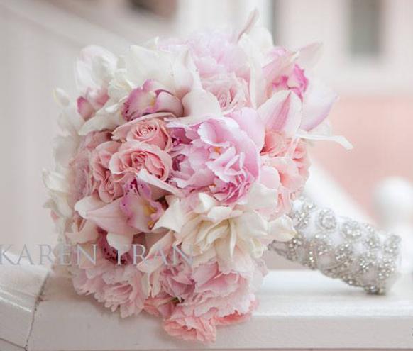 Ružové kytice inšpirácie - Obrázok č. 22
