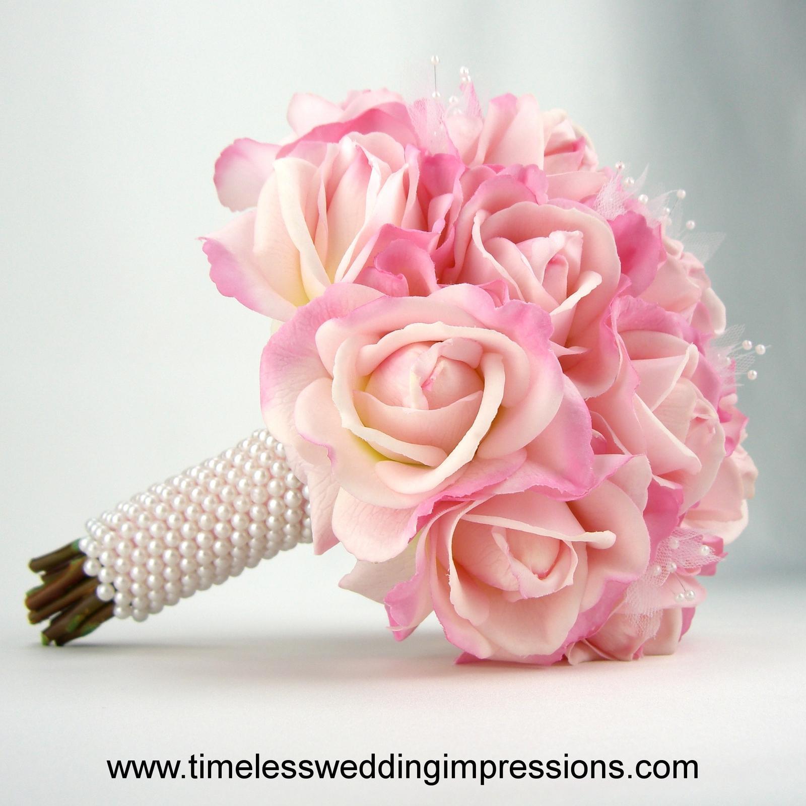 Ružové kytice inšpirácie - Obrázok č. 25