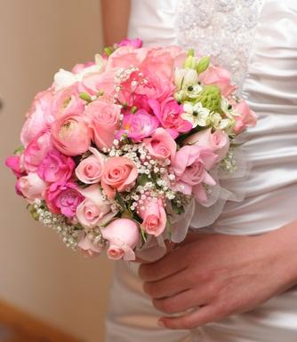 Ružové kytice inšpirácie - Obrázok č. 30