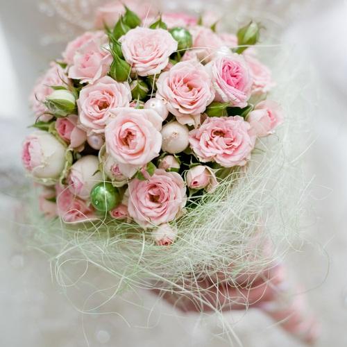 Ružové kytice inšpirácie - Obrázok č. 32
