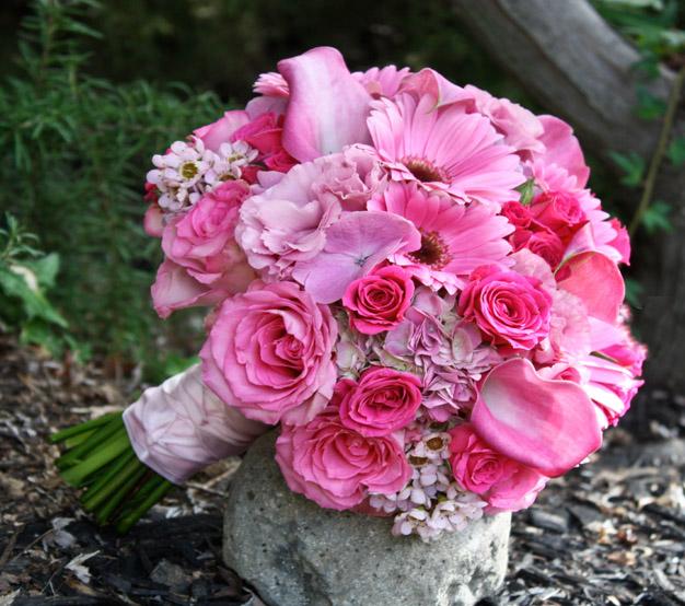Ružové kytice inšpirácie - Obrázok č. 34