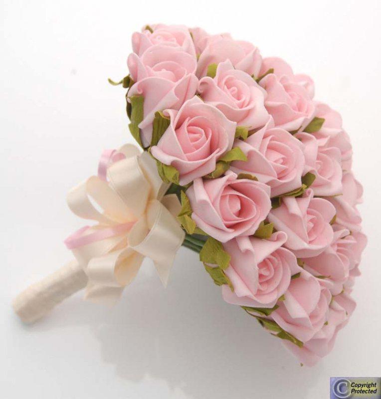 Ružové kytice inšpirácie - Obrázok č. 43