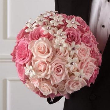 Ružové kytice inšpirácie - Obrázok č. 44