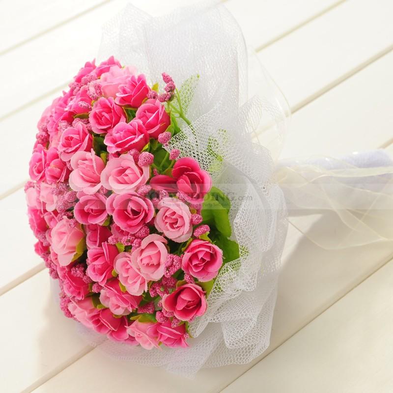 Ružové kytice inšpirácie - Obrázok č. 47
