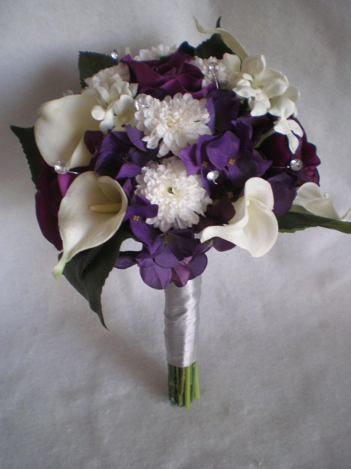 Fialové kytice inšpirácie - Obrázok č. 47