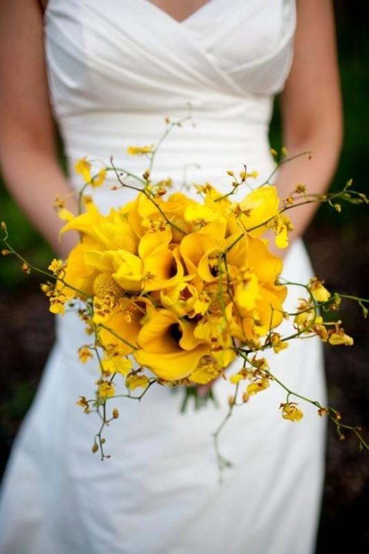 Žlté kytice inšpirácie - Obrázok č. 1