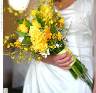 Žlté kytice inšpirácie - Obrázok č. 26