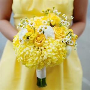 Žlté kytice inšpirácie - Obrázok č. 33