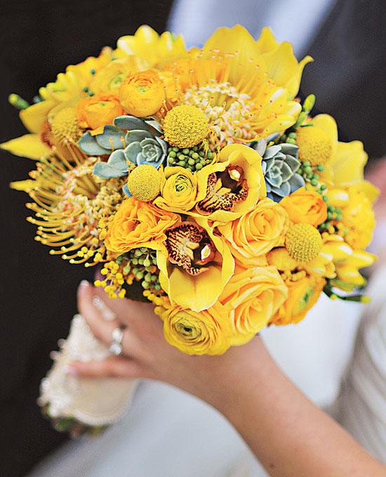 Žlté kytice inšpirácie - Obrázok č. 39