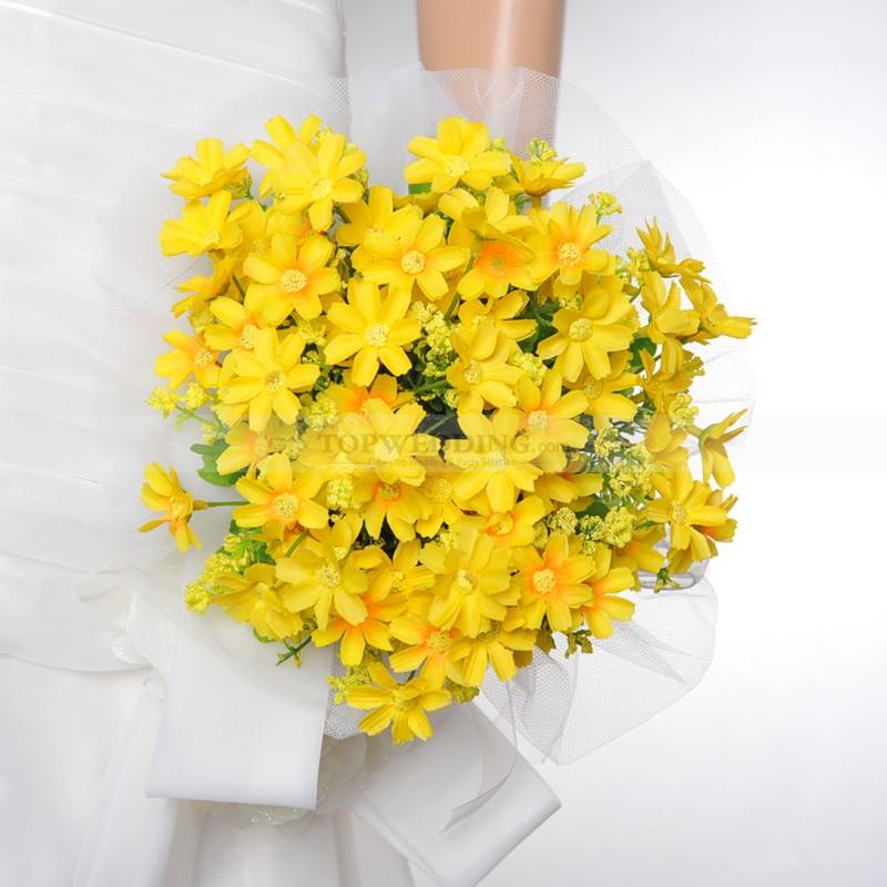 Žlté kytice inšpirácie - Obrázok č. 47