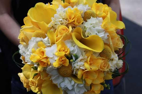 Žlté kytice inšpirácie - Obrázok č. 67