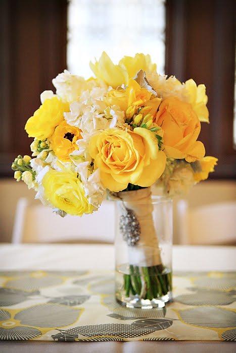 Žlté kytice inšpirácie - Obrázok č. 68