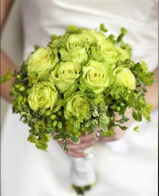 Zelené kytice inšpirácie - Obrázok č. 1