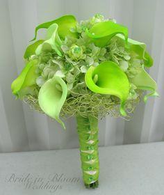 Zelené kytice inšpirácie - Obrázok č. 6
