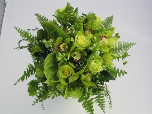 Zelené kytice inšpirácie - Obrázok č. 7