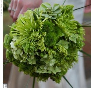 Zelené kytice inšpirácie - Obrázok č. 8