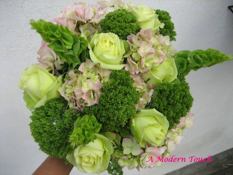 Zelené kytice inšpirácie - Obrázok č. 10