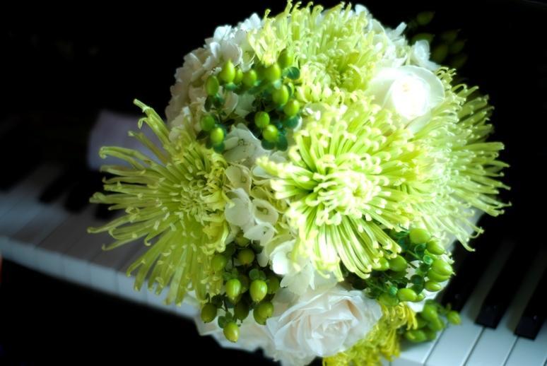 Zelené kytice inšpirácie - Obrázok č. 13