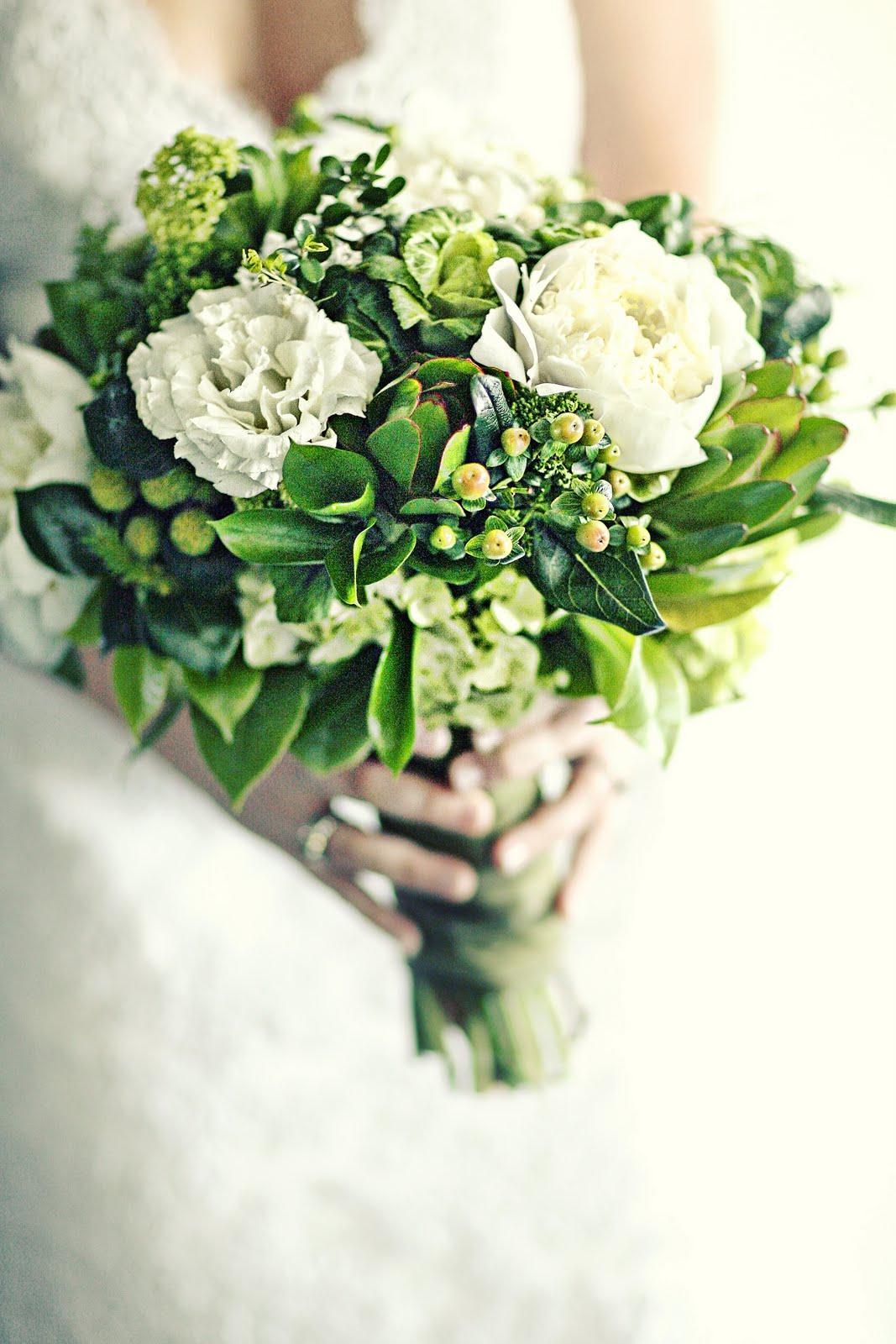 Zelené kytice inšpirácie - Obrázok č. 15