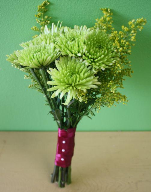 Zelené kytice inšpirácie - Obrázok č. 26