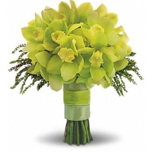 Zelené kytice inšpirácie - Obrázok č. 28