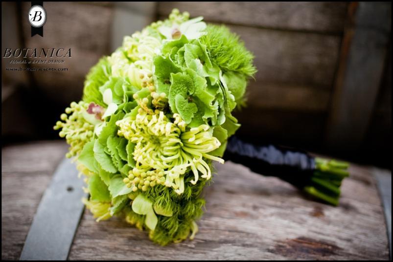 Zelené kytice inšpirácie - Obrázok č. 29