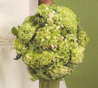 Zelené kytice inšpirácie - Obrázok č. 46
