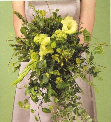 Zelené kytice inšpirácie - Obrázok č. 47