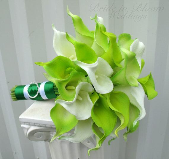 Zelené kytice inšpirácie - Obrázok č. 49