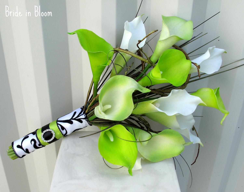 Zelené kytice inšpirácie - Obrázok č. 50