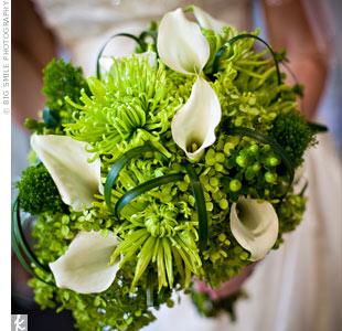 Zelené kytice inšpirácie - Obrázok č. 58