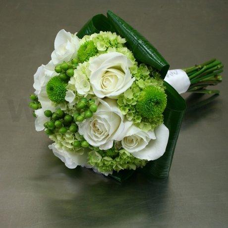 Zelené kytice inšpirácie - Obrázok č. 61