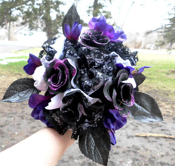 Čierne kytice inšpirácie - Obrázok č. 31