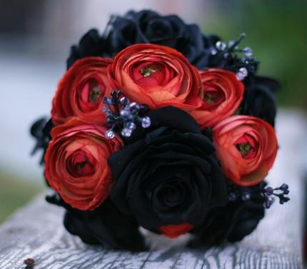 Čierne kytice inšpirácie - Obrázok č. 44