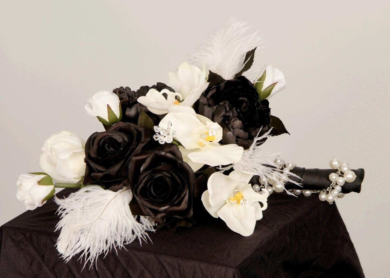 Čierne kytice inšpirácie - Obrázok č. 47