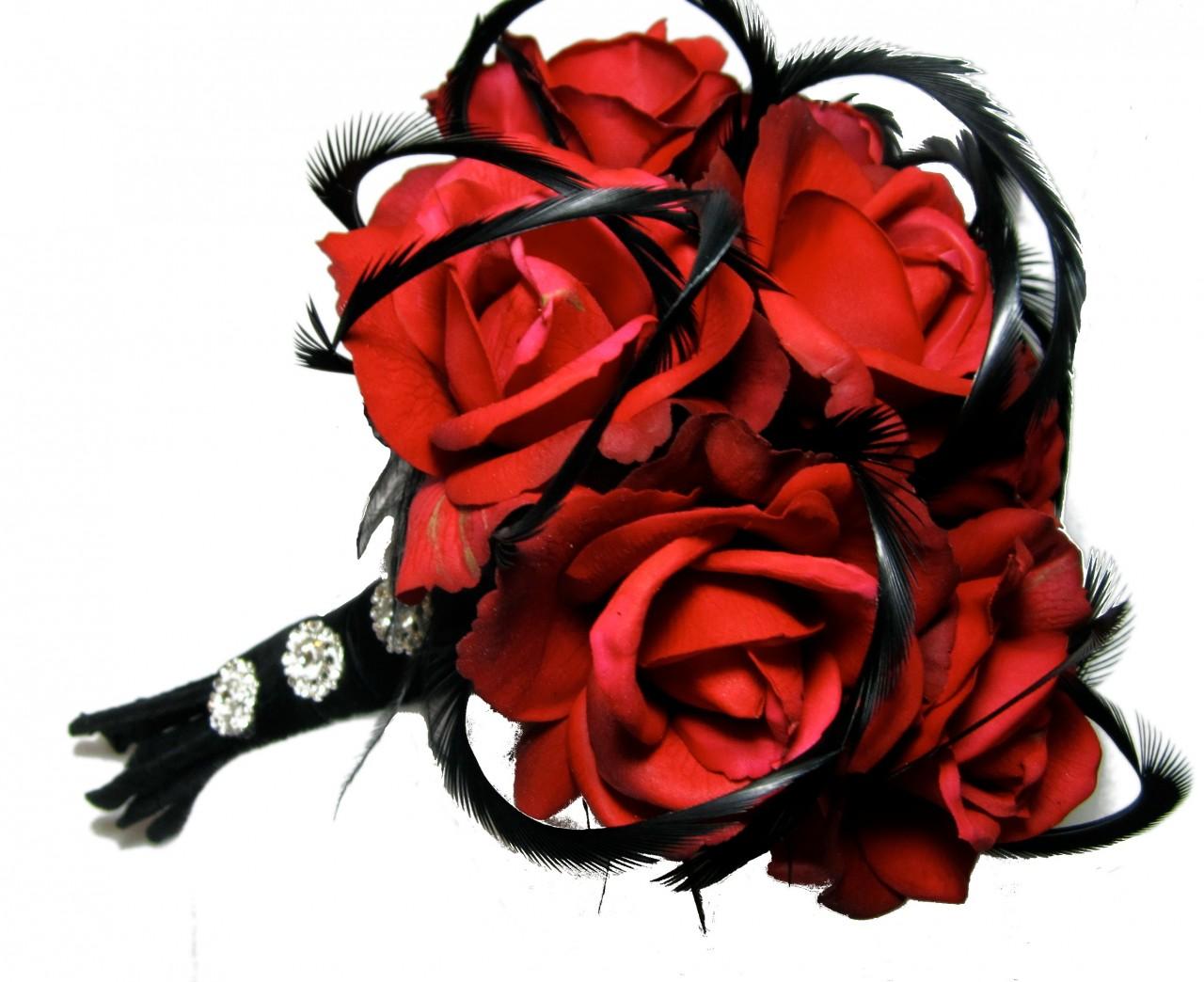 Čierne kytice inšpirácie - Obrázok č. 62
