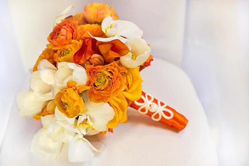 Oranžové kytice inšpirácie - Obrázok č. 3