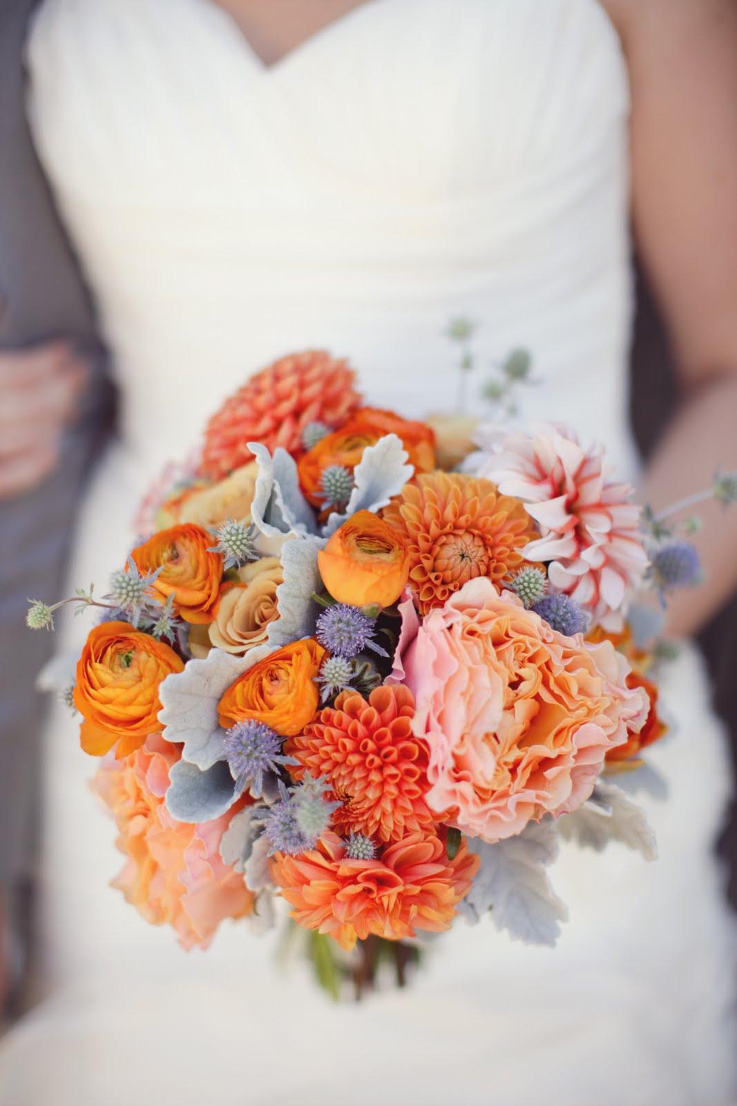 Oranžové kytice inšpirácie - Obrázok č. 4