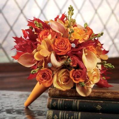 Oranžové kytice inšpirácie - Obrázok č. 5