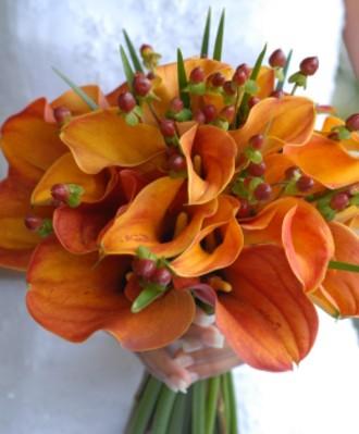 Oranžové kytice inšpirácie - Obrázok č. 6