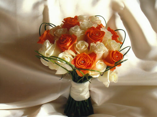 Oranžové kytice inšpirácie - Obrázok č. 9
