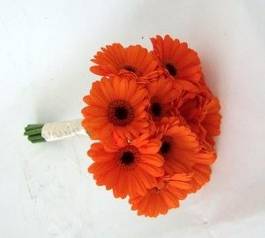 Oranžové kytice inšpirácie - Obrázok č. 11